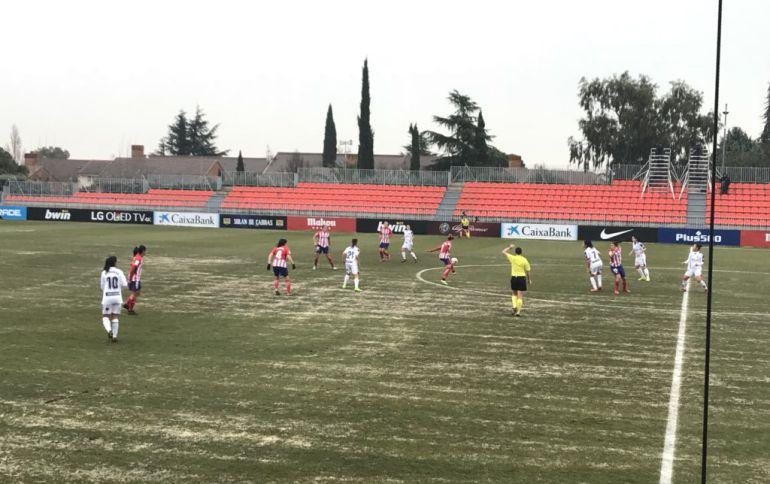 Derrota del Albacete Nexus ante el Atlético de Madrid