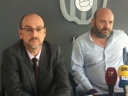 José Mª roig (I) con David Aguilar