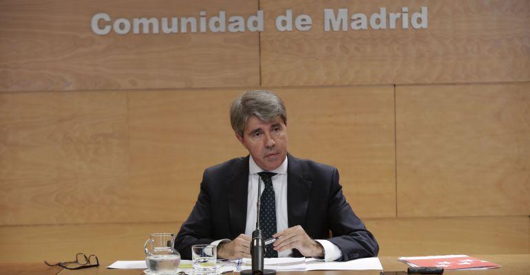 Ángel Garrido, consejero de Presidencia y Portavoz de la Comunidad de Madrid