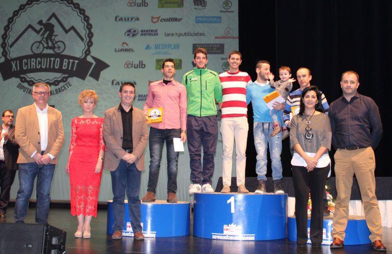 Gala de clausura del XI Circuito Provincial BTT Diputación de Albacete
