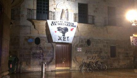 """Aburto: """"Han dejado el Casco Viejo de Bilbao hecho un asco"""""""