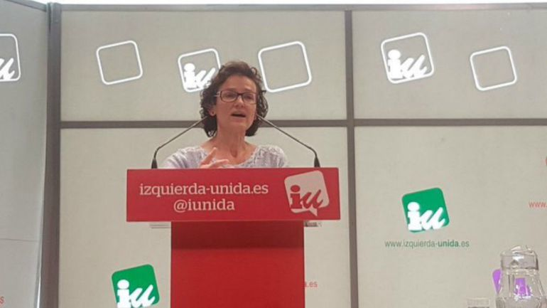 """Isabel Salud: """"Con Podemos trabajamos bien y será fácil llegar a acuerdos"""""""