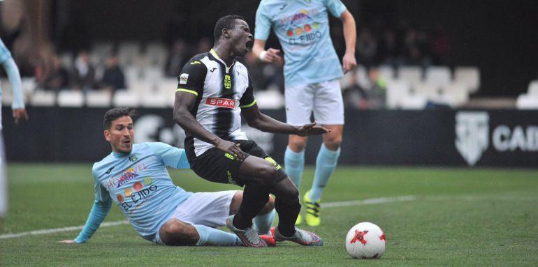 La jugada del penalti sobre Moussa