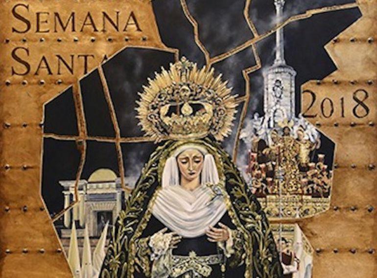 Cartel de la Semana Santa 2018 en Córdoba, obra del artista César Ramírez