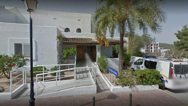 Imagen de la comisaría de la Policía Local de Sant Josep