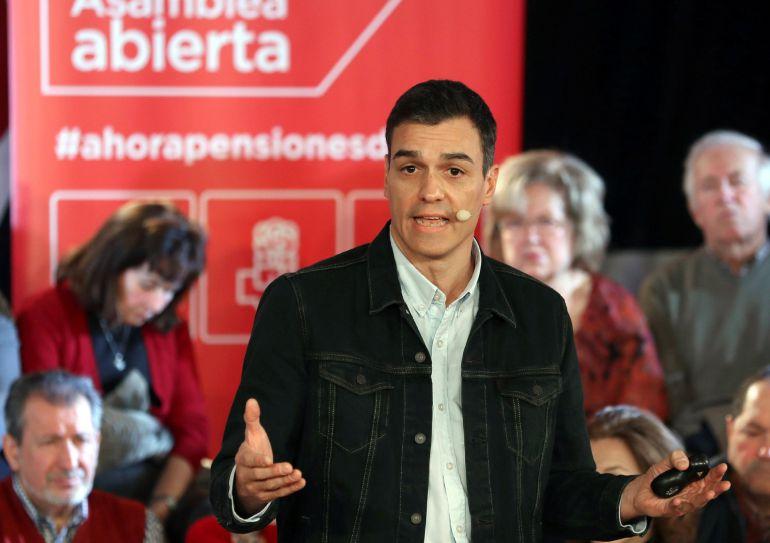 El secretario general, Pedro Sánchez, interviene en su segunda Asamblea Abierta a la ciudadanía