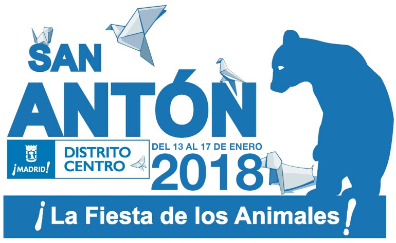 Cartel publicitario fiestas San Antón