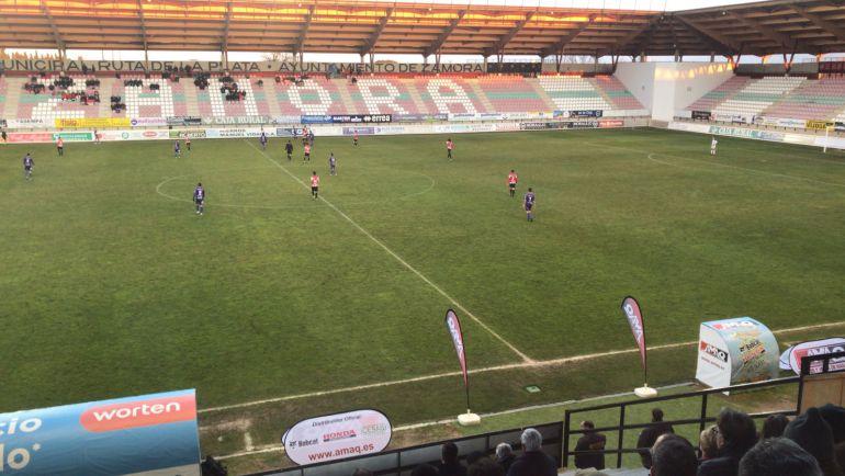 El Palencia Cristo Atlético goleó al Zamora en el Ruta de la Plata.