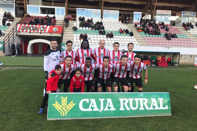 Once inicial del Zamora CF en el encuentro ante el Cristo Atlético