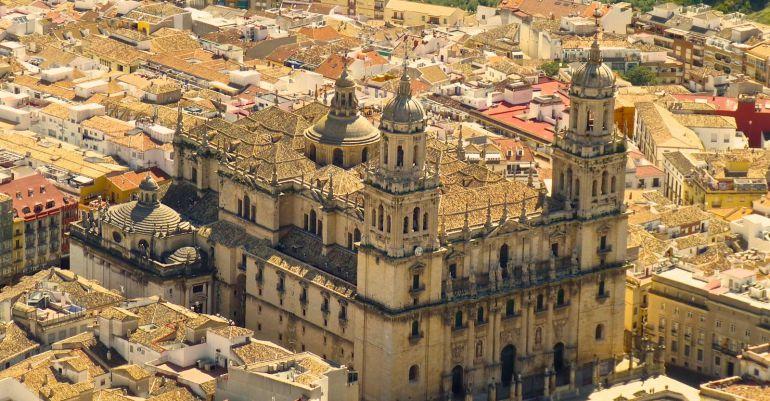 Vista de la Catedral de Jaén.