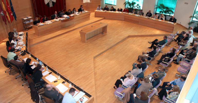 Pleno municipal de Alcobendas