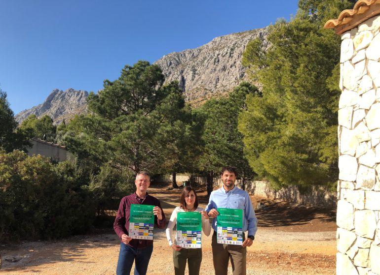 Presentación de la IX edición del Gegant de Pedra por la sierra de Segària, en Ondara.