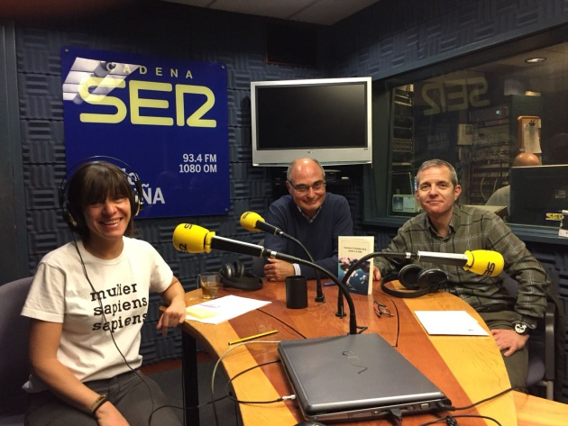 Teba Chacón, Francisco Xosé Fernández Naval y Javier Pintor