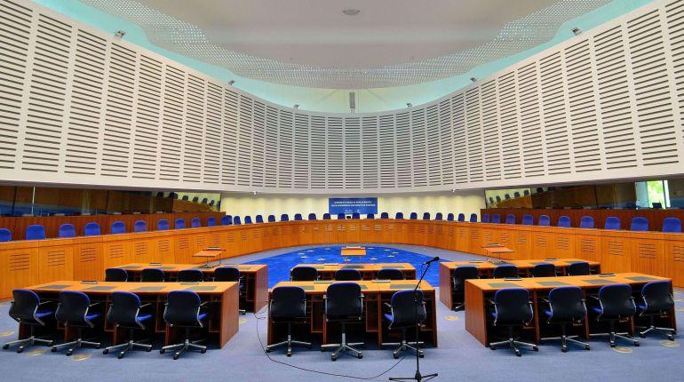 Imagen de archivo de una de las salas del Tribunal Europeo de Derechos Humanos.