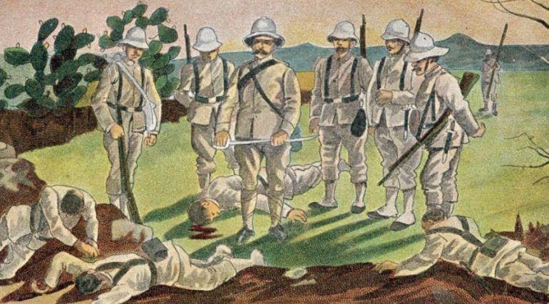 La guerra del Riff en el Barranco del Lobo.