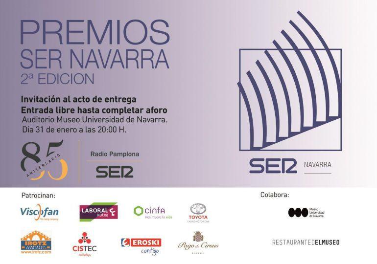Fallados los II Premios SER Navarra