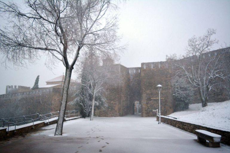 Meteorolog a nieva en el interior de la provincia de - Interior de castellon ...