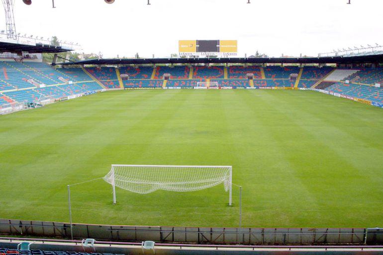 Imagen del estadio Helmántico.