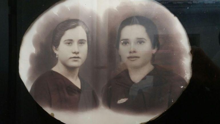 Rufina y Beatriz Ubeda Palomares, hermanas de Malagón que fueron represaliadas.