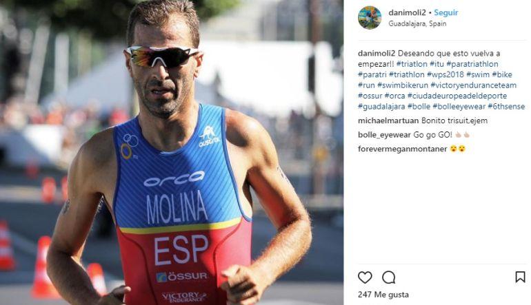"""El atleta paralímpico Dani Molina: """"Tener unas buenas redes sociales es una parte muy importante de mi trabajo"""": Dani Molina: """"Tener unas buenas redes sociales es una parte muy importante de mi trabajo"""""""
