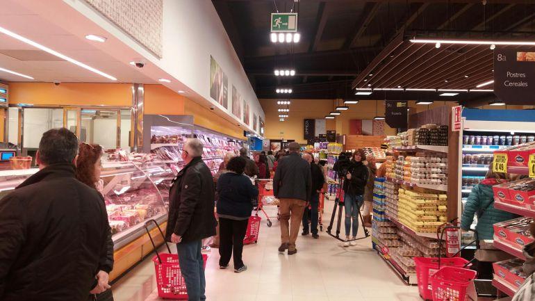 Imagen del nuevo supermercado.