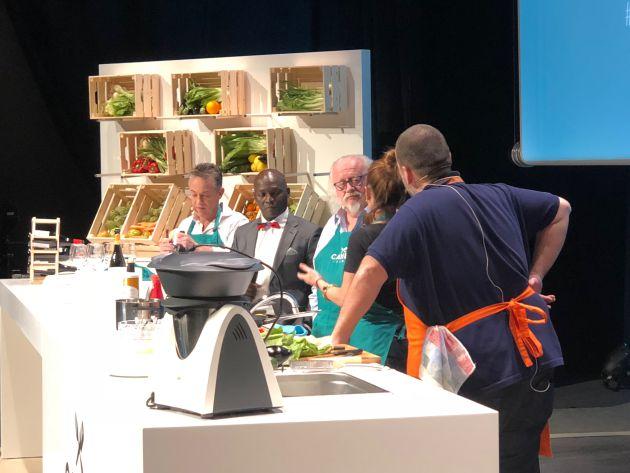'Canela Fina', un 'show cooking' con mucho humor