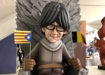 Puigdemont, Rajoy y Trump invaden las Fallas