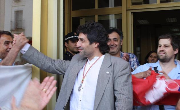 Rafael del Castillo, el día de su toma de posesión como concejal.