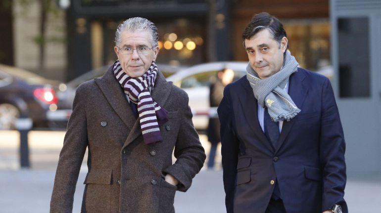 Granados y su abogado llegan a la Audiencia Nacional