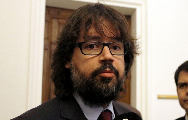 El Secretari d'Infraestrictures de la Generalitat, Ricard Font