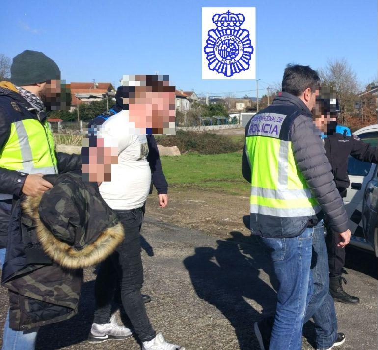 Fueron detenidos por la Policía Nacional.
