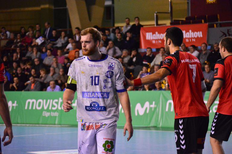 Diego Piñeiro capitan del ABANCA Ademar
