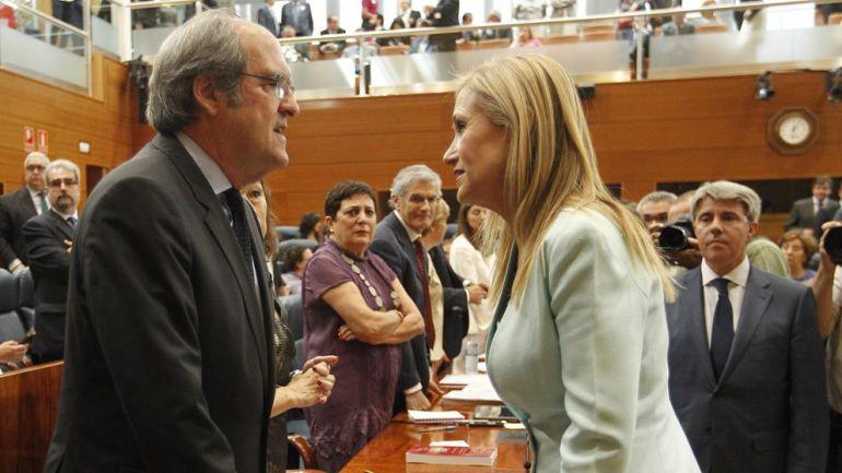 """Cifuentes y Gabilondo coinciden en la necesidad de un código ético """"nacional"""""""