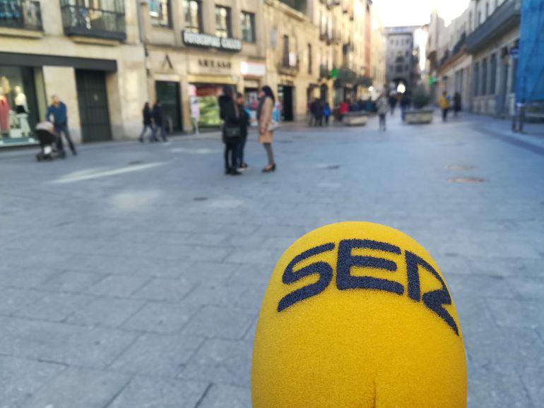 La SER sale a las calles de Salamanca para recabar la opinión de los ciudadanos.