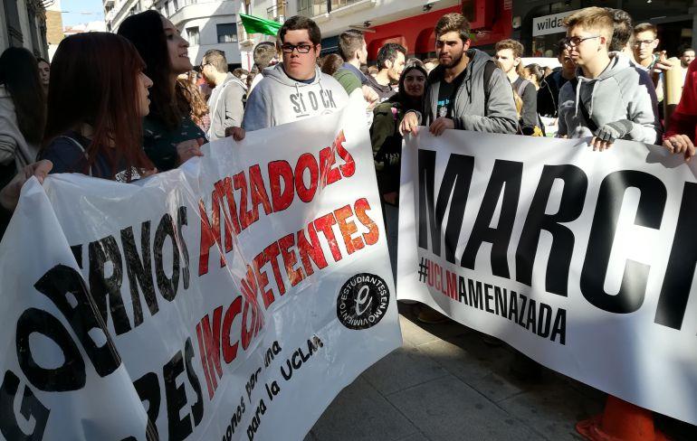 Los universitarios de Ciudad Real, a la huelga por la falta de financiación