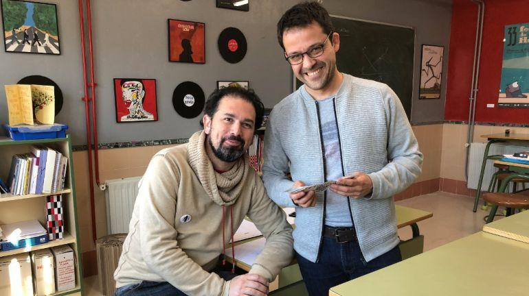 Rubén Fernández y Óscar Martín.