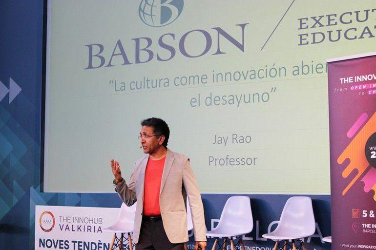 Innovació empresarial amb el centre Valkiria i la Universitat Babson College de Boston