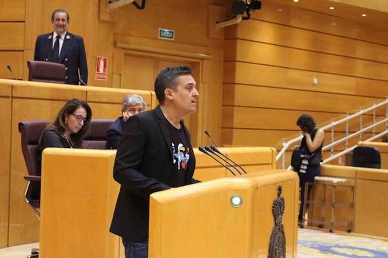 Imagen del senador Carles Mulet. Foto de Compromís.