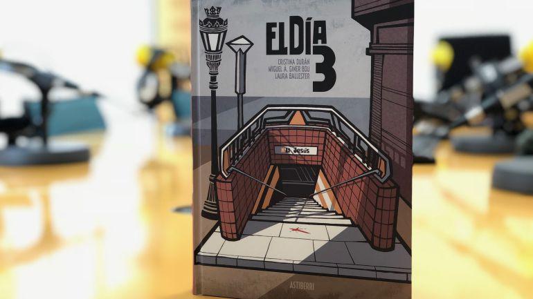 """Cómic """"El Día 3"""" sobre el accidente de Metro de Valencia de 2006"""