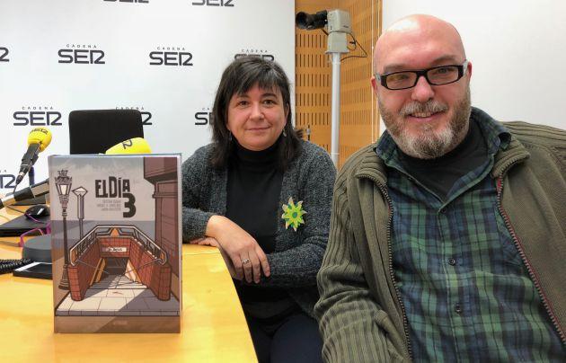 """Cristina Durán y Miguel Angel Giner, autores de """"El día 3"""""""