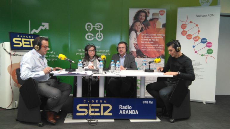 Emisión en directo de Hoy por hoy Aranda desde GSK