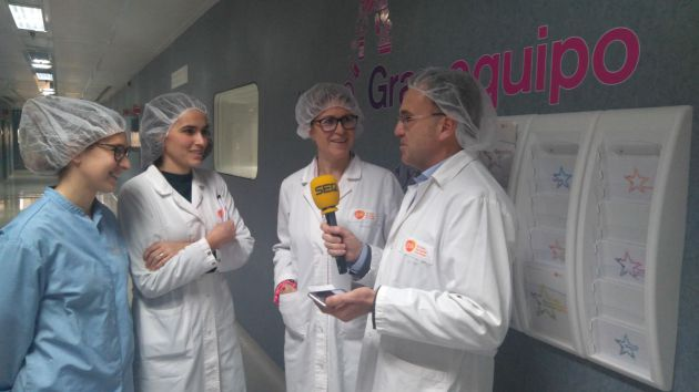 Mónica Sanz, Cristina Fernandez, Azucena Pardo y Fernando Berzosa