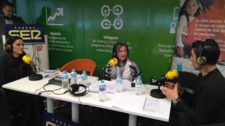 Cristina Fernandez, Elena Lastra y José Luis Parriego