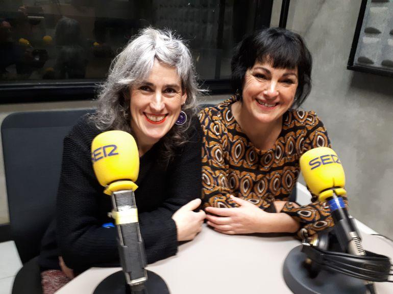 Saioa Aizpurua 'Pantxineta' y Karmele Etxeberria 'Pantxis' son integrantes de Algaraklown