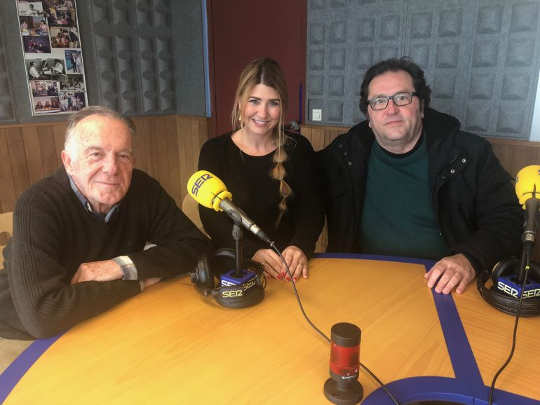 Julio Herranz, Montse Monsalve y Jesús Turel
