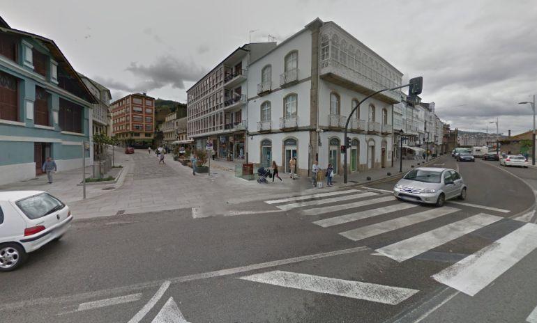 Una calle del Casco Histórico de Viveiro