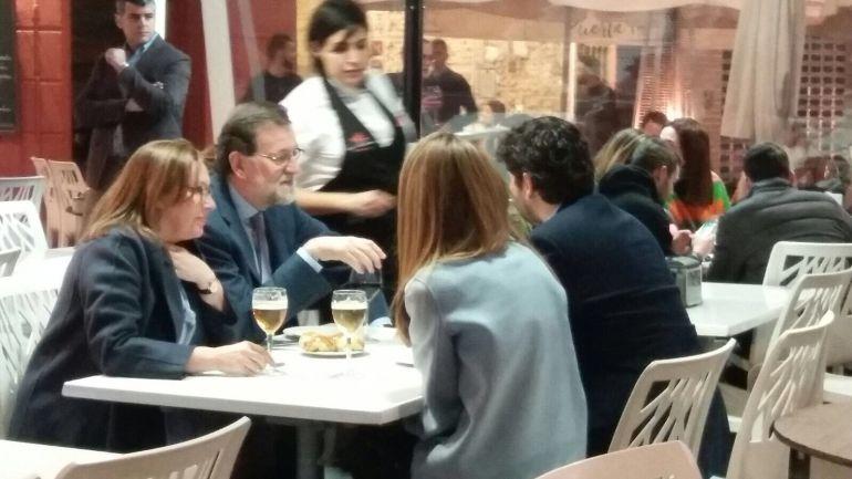 Rajoy visita Cartagena por sorpresa junto a Fernando López Miras