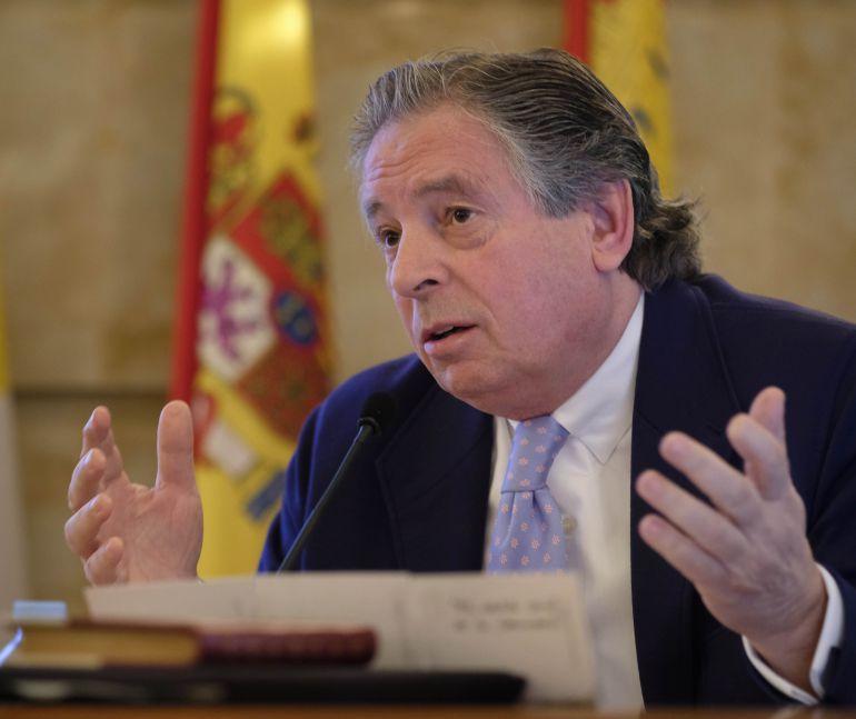 El ex vicepresidente de Unicef, Juan José Almagro en Salamanca.
