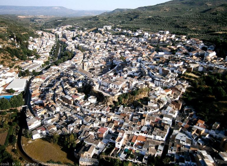 La zona de Vistalegre se encuentra en la parte alta de la localidad de Beas de Segura