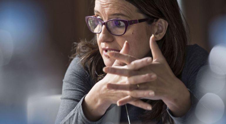 La vicepresidenta del Gobierno valenciano, Mónica Oltra
